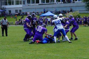 Razorbacks U19 gegen Freiburg Sacristans