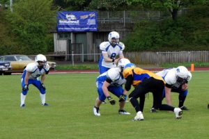 U19 in Backnang - QB Leon Schiffmann
