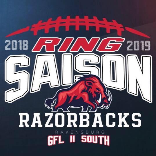 Razorbacks Champions 2019 Logo